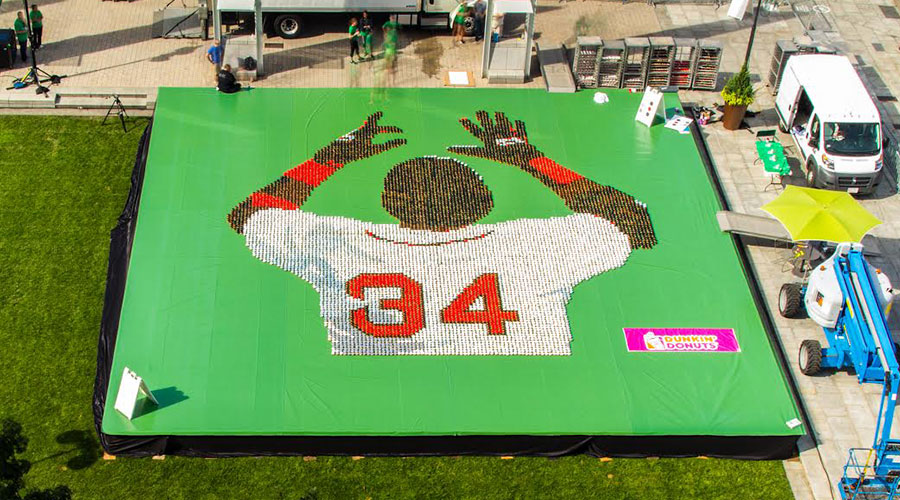 A 10,000 Donut Salute to #34 David Ortiz
